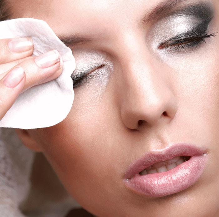 Как снимать макияж на фото