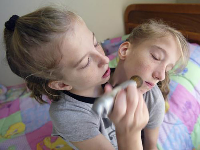 Cocksucker.. Outstanding Abby and brittany blowjob