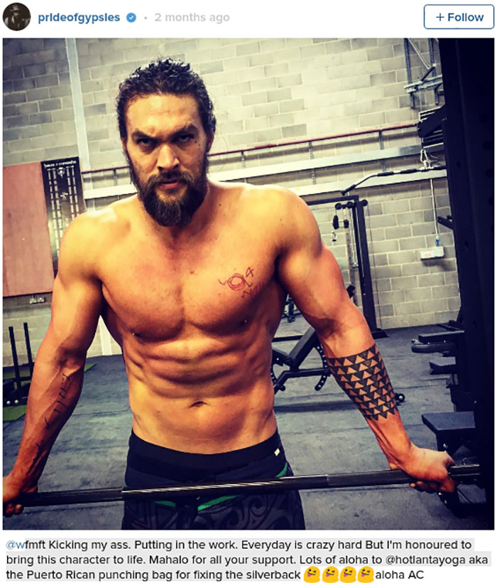 This Is The Workout Khal Drogo From 'Game Of Thrones' Does ...