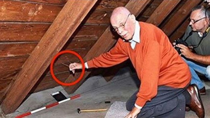 He Found A Hidden Room In His Family S Attic