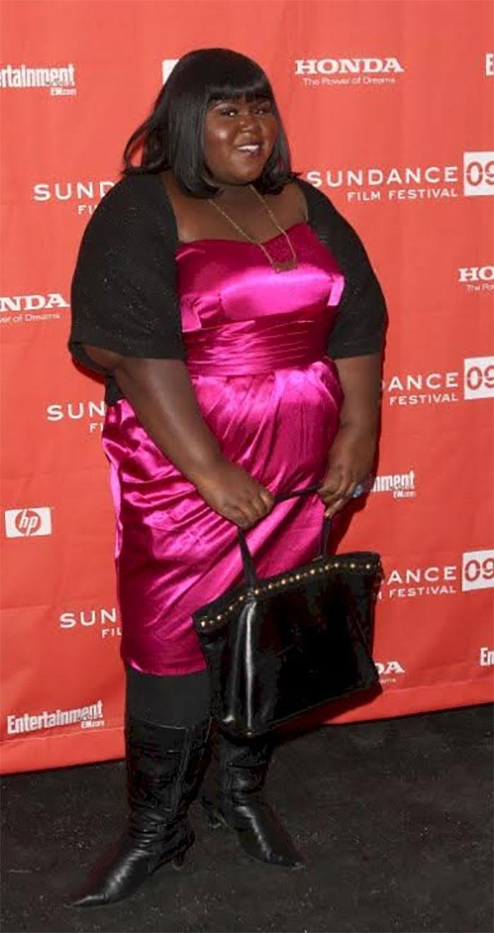 precious star gabourey sidibe loses 50 pounds