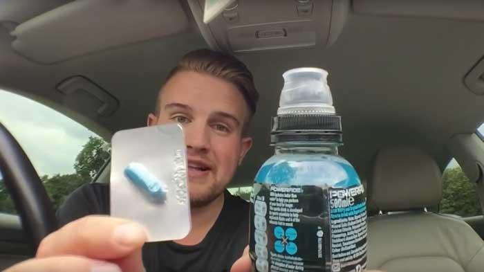 Slip a viagra in his drink